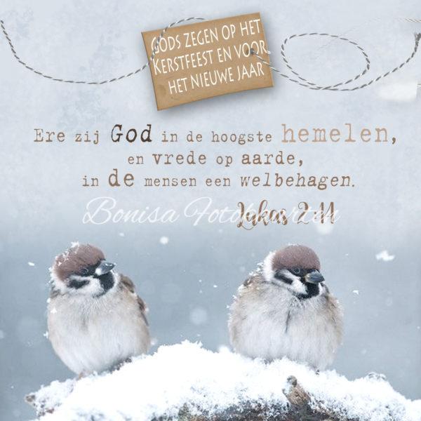 Bijbeltekst 2 Gods zegen...