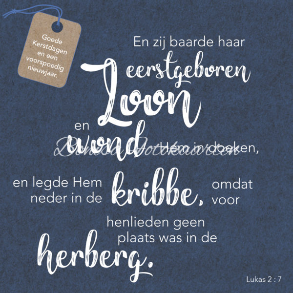 Bijbeltekst 1a Goede Kerstdagen...